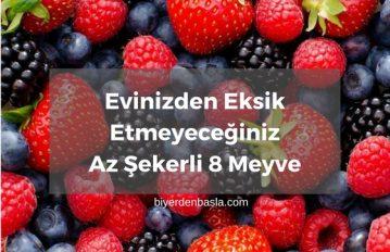 Zero Meyveler: Az Şekerli 8 Meyve