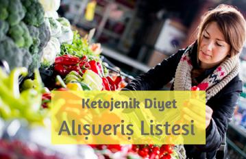 Ketojenik Diyet Alışveriş Listesi
